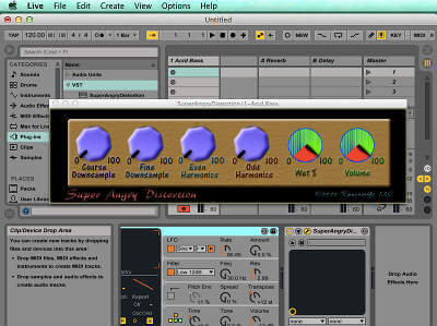 Super Angry Distortion in Ableton on OSX