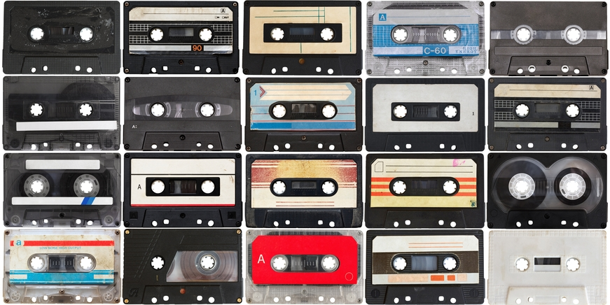 Tapes ImageMusic Tape Cassette Vintage